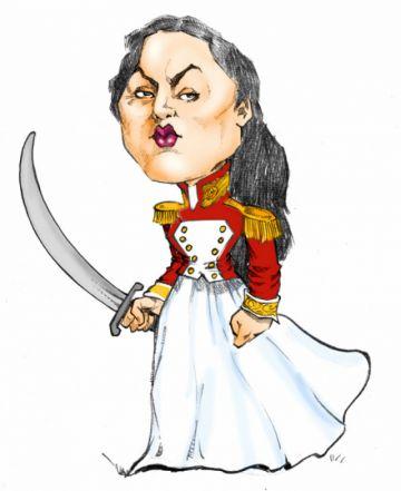 Juana Azurduy,  su matrimonio y su fallecimiento
