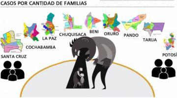 Tarija, Pando y Beni lideran  índices de violencia familiar