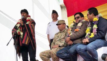 Evo Morales: Los mismos sucrenses perjudican a la Capital y Chuquisaca