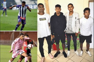 Dos futbolistas  detenidos por  presunta violación