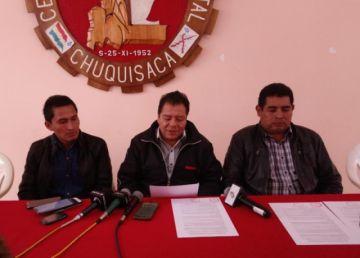 """Declaran a Sucre """"capital sin agua"""" y advierten con protestas"""