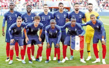 Francia convoca  a sus máximas figuras