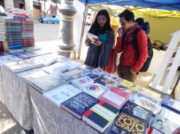 La Plaza 25 de Mayo acoge  la Feria Nacional del Libro