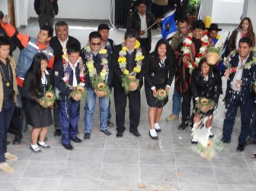 El colegio Aniceto Arce  recibe un nuevo edificio