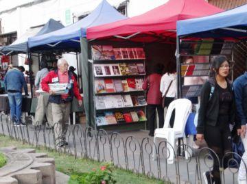 Feria Nacional del Libro en Plazuela San Francisco