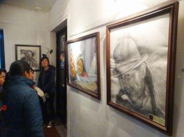 Una exposición pictórica recuerda a Manuel Molina