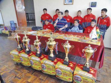 Los mejores del Fútbol de Salón llegarán a Sucre