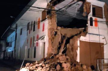 Al menos seis personas heridas en Ecuador por terremoto con epicentro en Perú
