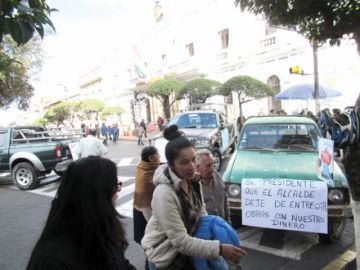 La Alcaldía anuncia pago  a empresas constructoras