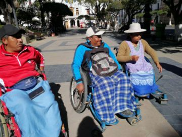 Discapacitados exigen ubicación en mercados