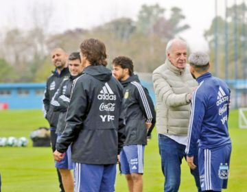 Argentina inicia entrenamientos sin Lionel Messi