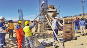 Reportan 8% de avance en construcción de Terminal