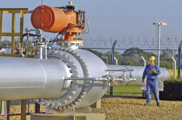 Baja la demanda de gas en el último trimestre