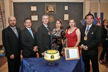 Tercer aniversario del Rotary Club Chuquisaca