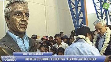 """Singular busto del """"Vice""""  en Punata desata críticas"""