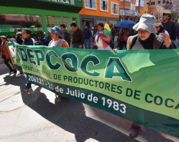 Choques con la Policía en La Paz dejan dos cocaleros detenidos