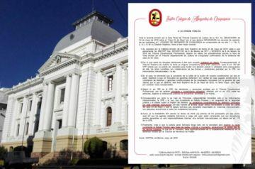 Abogados colegiados cuestionan fallo del TSJ en caso 24 de Mayo