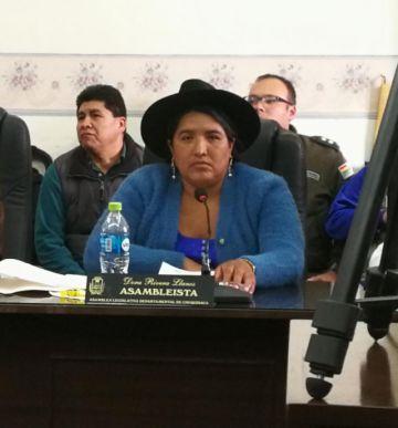 Dora Rivera es la nueva Presidenta de la Asamblea Legislativa Departamental