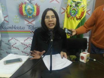 Diputada pide suspensión de Presidente del TCP e inicia juicio de responsabilidades