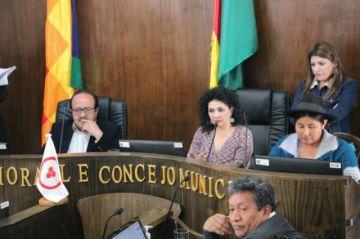 Concejo ratifica directiva y el MAS exhibe división