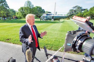Trump rechaza un posible juicio político en su contra