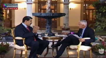 """Nicolás Maduro a Jorge Ramos: """"Te vas a tragar con una Coca-Cola tu provocación"""""""