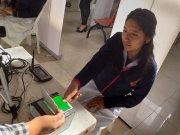 Inauguran el registro de empadronamiento biométrico en Chuquisaca