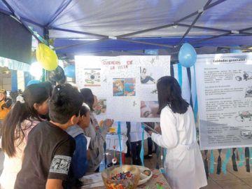 Campaña de salud visual beneficia al Colegio Junín