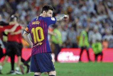 "La ""Pulga"" Messi, goleador de la Champions por sexta vez"