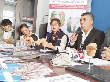 Más de 30 beneficiarios en  Programa Pie Equino Varo
