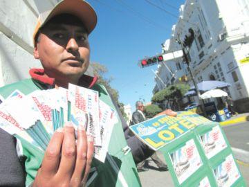 Lotería busca al billete ganador en Sucre