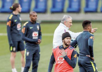 Neymar en la cuerda floja