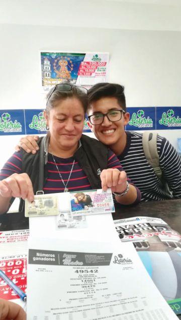 Asidua a la lotería gana premio mayor en Sucre