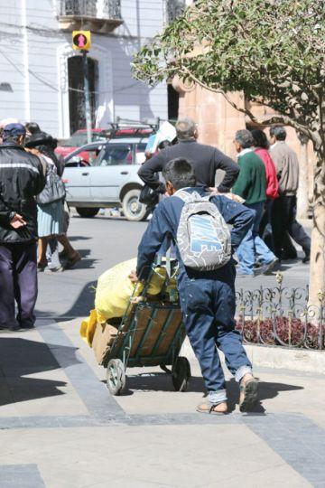 Alcaldía identifica a diez familias en  situación de calle