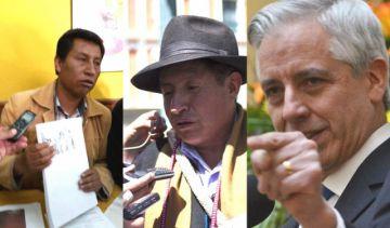 Rodríguez y Quispe retan al Vice a debatir en quechua y aymara para que no se aburra