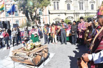 Año nuevo andino: festejo central será en Tiahuanaco
