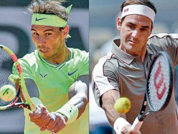 Nadal y Federer van por la final