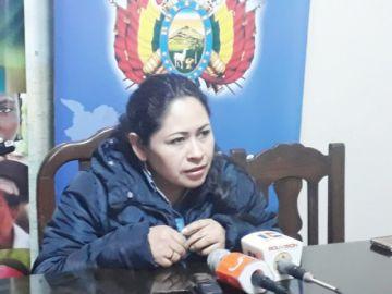 Mujeres quieren  proclamar a Evo enconferencias de ASUR
