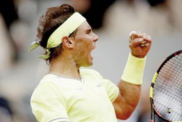 El vendaval Nadal  arrasa a Federer  y jugará la final