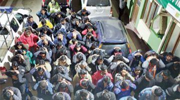 Más de cien arrestados en lenocinios de El Alto