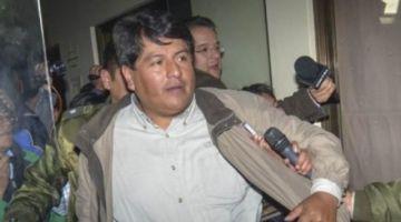 Patana, exalcalde de El Alto, es trasladado a la cárcel de Patacamaya