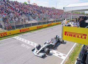 Hamilton gana en Canadá  y refuerza su liderato en la F-1