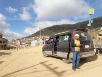 Vecinos de Sancho habilitan medio de transporte propio