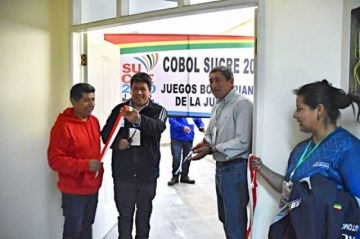 Cobol-Sucre 2020 recibe oficinas en el Polideportivo