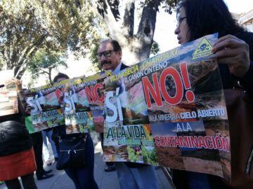 Anuncian bloqueo de carreteras en rechazo a actividad minera