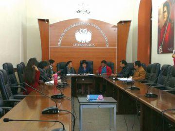 Comité analiza anteproyecto de ley