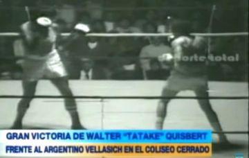 """Así ganó Wálter """"Tataque"""" Quisbert una de las peleas en los Bolivarianos de 1977"""