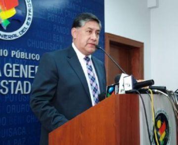 Fiscal General dice que acusaciones de Jhasmani Torrico no se respaldan con pruebas