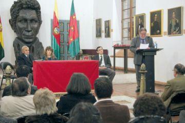Luis Ríos Quiroga recibeuna distinción de SGHS