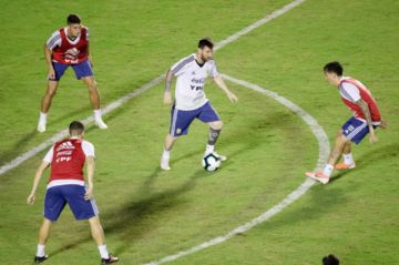 Argentina sube la intensidad